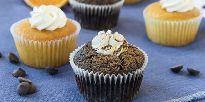 Chocolate mud cupcake gf / ff / nf / vgn