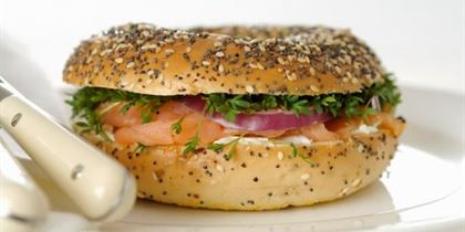 Healthy Office gluten free large gourmet bagel gf