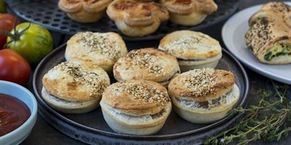 Mini Moroccan lamb pie