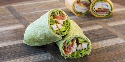 NEW Gourmet tortilla wraps